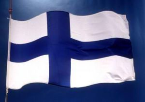 finnish flag, #CCC